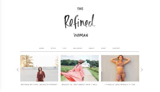 Refined Woman